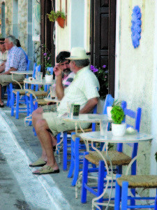 Små, sjarmerende greske tavernaer er det mange av i Kardamili.