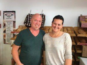 Ståle og Kristin Soltvedt på Moritz Bakeri & Konditori er fornøyd med businessen.
