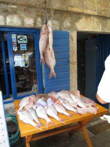 Fisk og sjømat i alle varianter smaker godt.