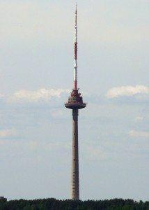 TV-tårnet har fantastisk utsikt og det serveres god mat i restauranten.