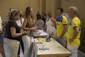 Fotballklubben i Alfaz del Pi var blant idrettsforeningene som deltok på stand.