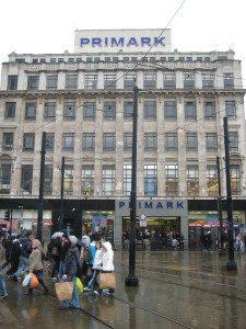 Primark – en billigbutikk med mange spennende varer. Manchester er for øvrig et shoppingeldorado.