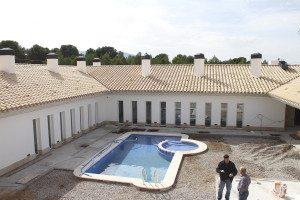 Svømmebasseng blir det naturligvis på det nye hotellet som bygges.