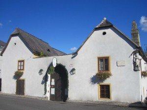 Heuriger Wieninger er en populær vingård.